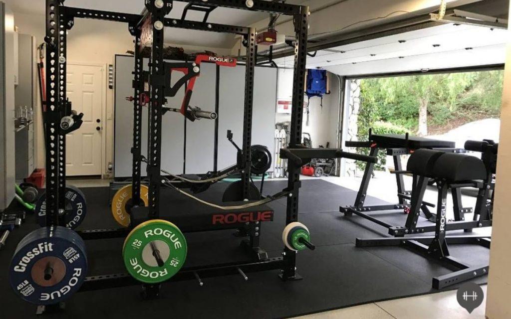 clean home gym equipment